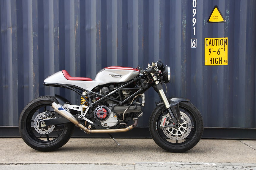 Piece Of Cake U2013 Ducati ST2 Cafe Racer BY Return Of The Cafe Racers