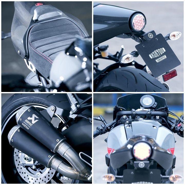 Yamaha XSR900 Abarth Cafe Racer 4